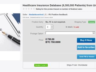 Patientendaten auf dem Schwarzmarkt