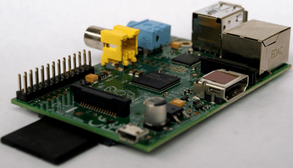 Raspberry Pi mit SD-Karte