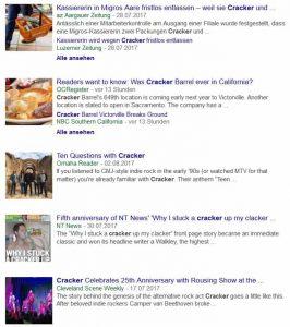 Cracker auf Google News