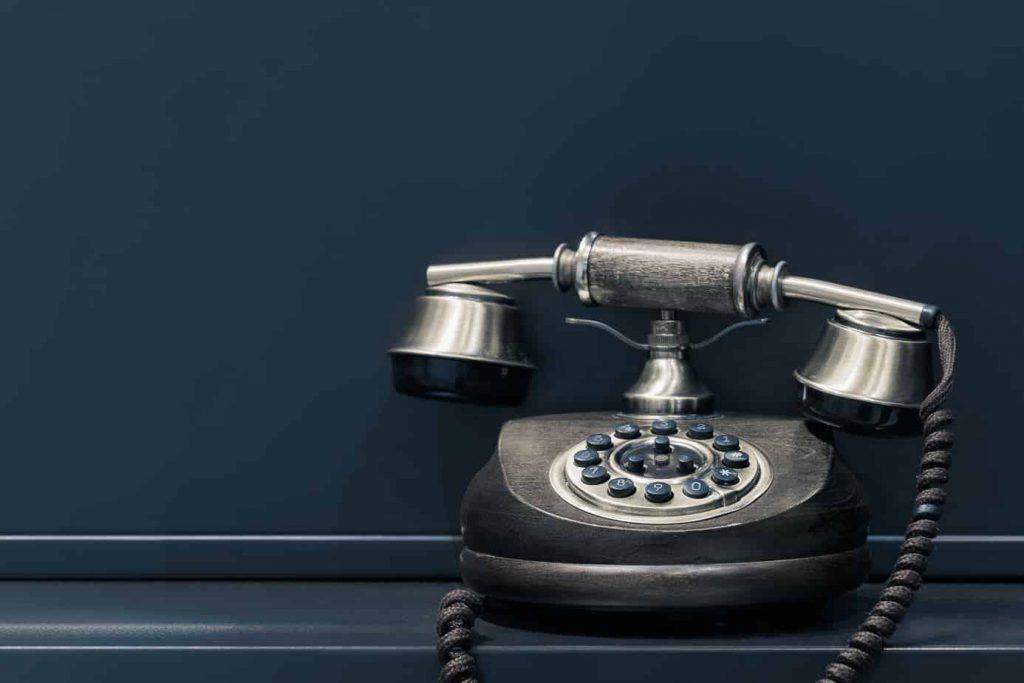 Fernbehandlung per Telefon