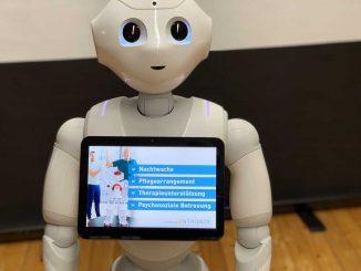Pepper für Robotik in der Pflege