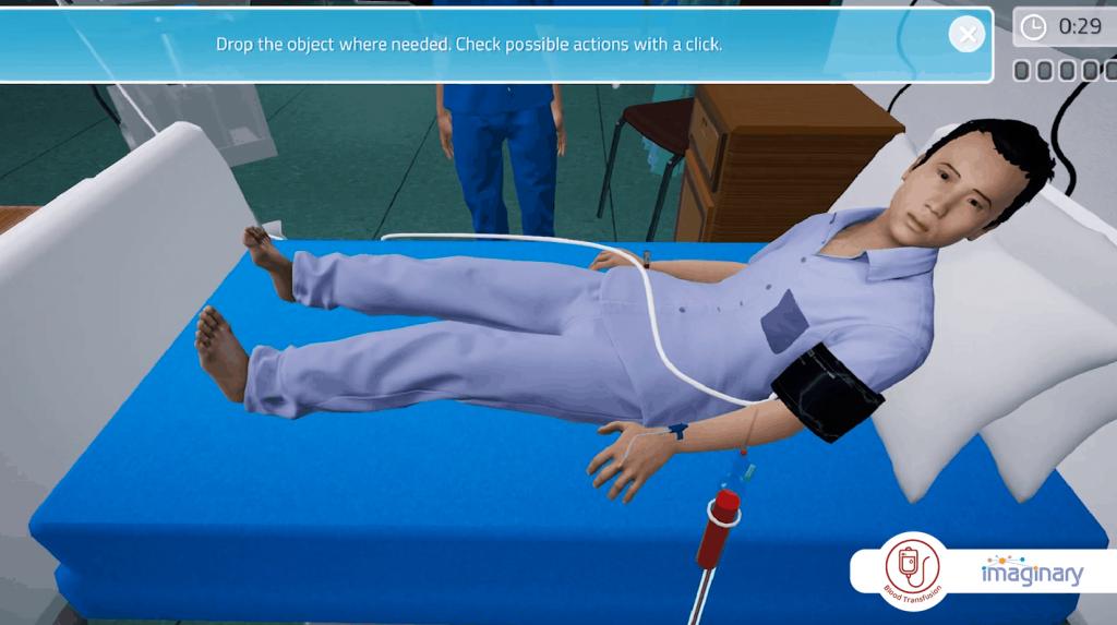 Blood Transfusion Game
