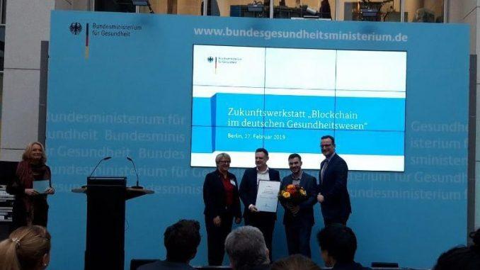 Blockchain-Wettbewerb BMG Preisverleihung