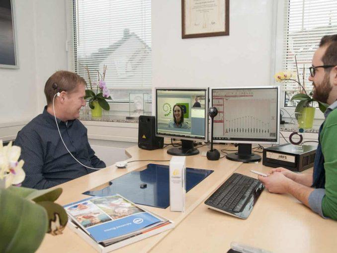 Cochlea-Implantat: Remote-Nachsorge