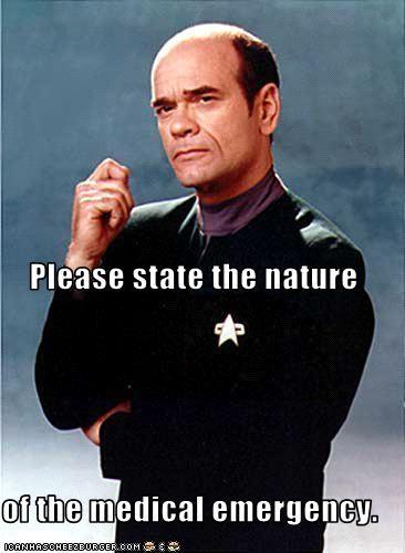 Star Trek Voyager, Holodoc