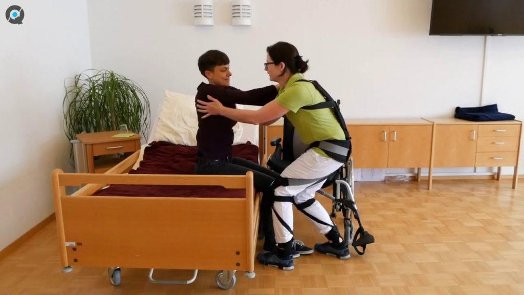 Hunic - Exoskelett in der Pflege